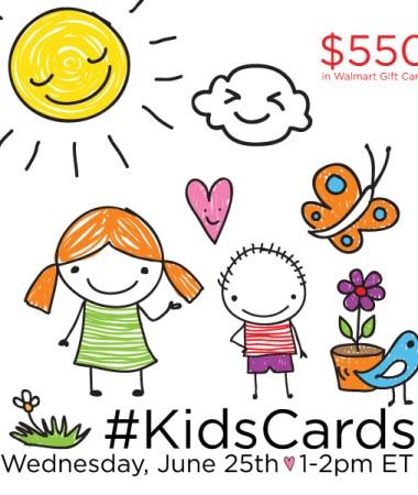 #KidsCards #TwitterParty 6/25 #cbias