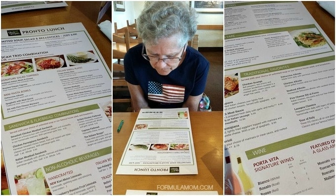Olive Garden New Menu Family Lunch #OGTastes