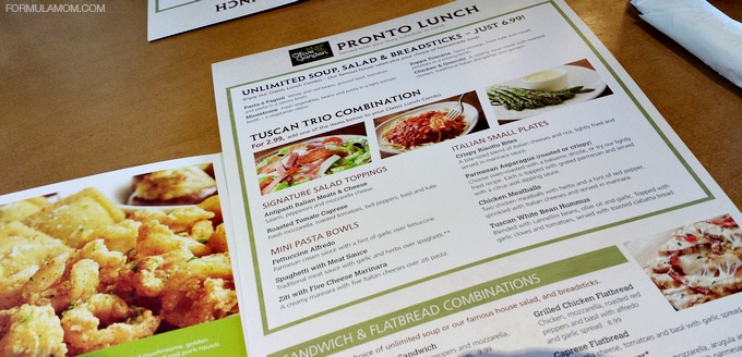 Image Gallery Olive Garden Lunch Menu