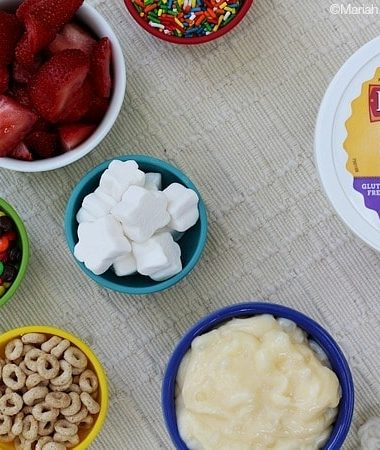 Easy Pudding Topping Bar #puddinglove
