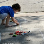 Sidewalk Chalk Activities: Traffic Lanes