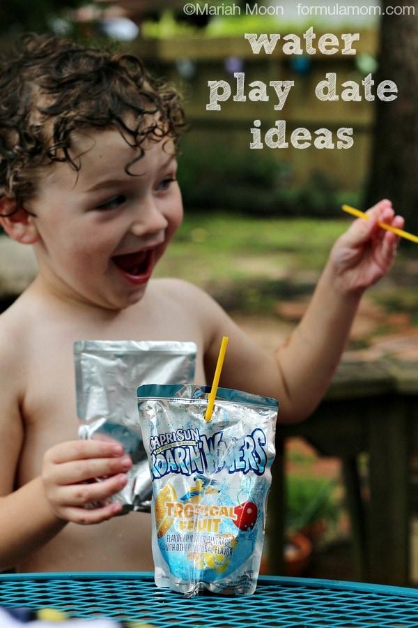 Water Play Date Ideas with Capri Sun #CapriSunMomFactor