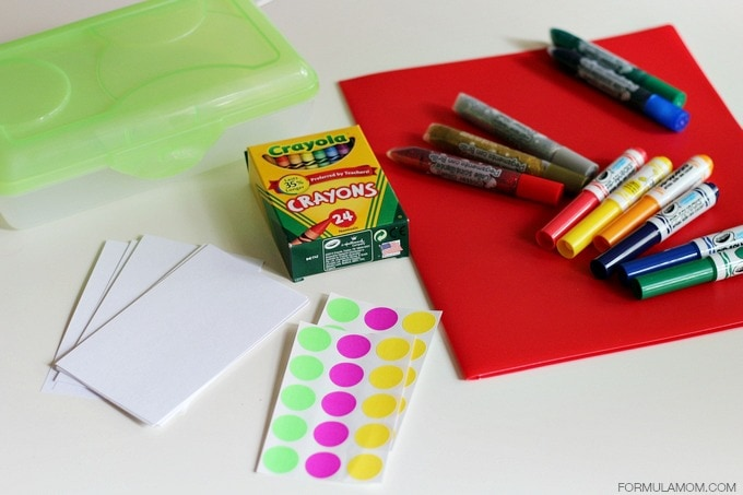 Beat Summer Boredom with Simple Craft Supplies #summer