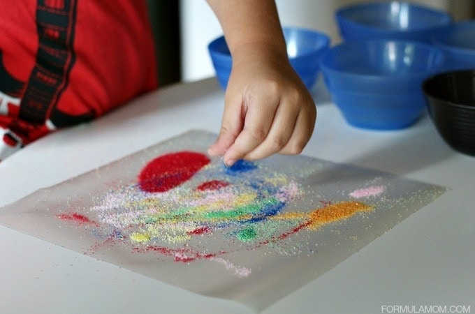 Easy Sand Art for Kids