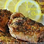 Oven Roasted Lemon Pepper Chicken Recipe