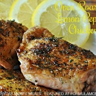 Oven Roasted Lemon Pepper Chicken Recipe