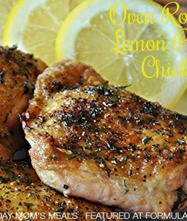 Oven Roasted Lemon Pepper Chicken #recipe