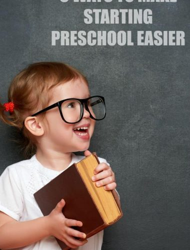 Is your child starting school this year? Check out these ways to make starting preschool easier! The back to school transition can be a smooth one!
