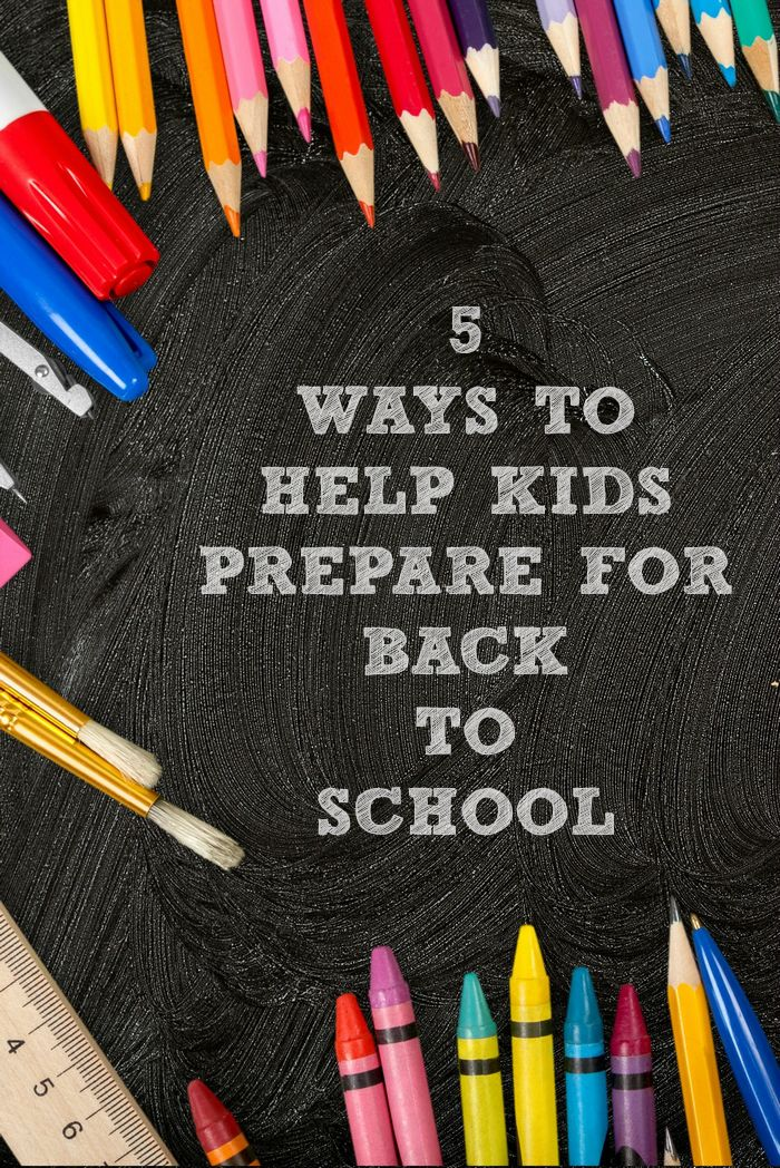 Back to school time can be stressful on the whole family. These 5 Ways to Prepare for Back to School can help ease everyone's worries. Help your child go back to school with confidence!