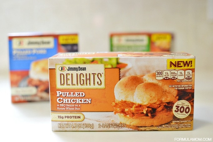 Quick Lunch Ideas with Jimmy Dean