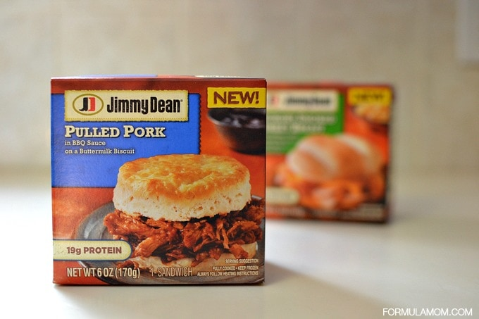 Quick Lunch Ideas with Jimmy Dean Pulled Pork