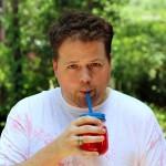 Squirt Gun Tie Dye Fun with Juice Drinks