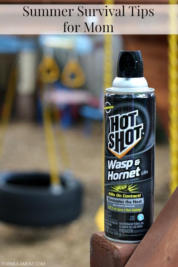 Summer Survival Tips for Mom #HotShot