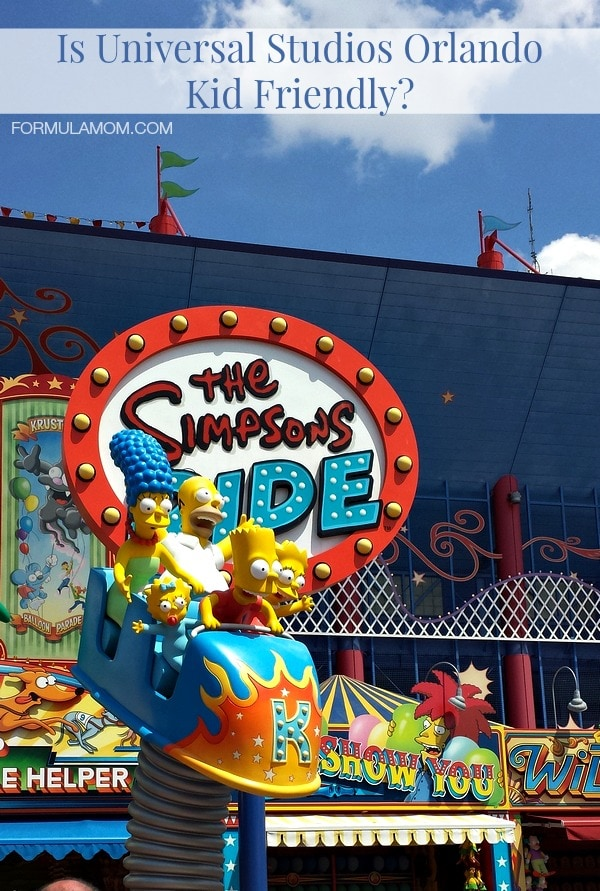 Is Universal Studios Orlando Kid-Friendly? #UniversalOrlando #familytravel
