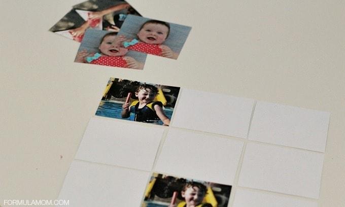 Vacation Memory Book Alternative: Memory Game