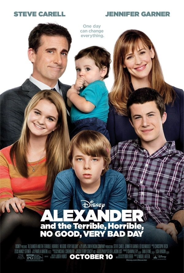 Disney's Alexander and the Terrible, Horrible, No Good, Very Bad Day #VeryBadDay