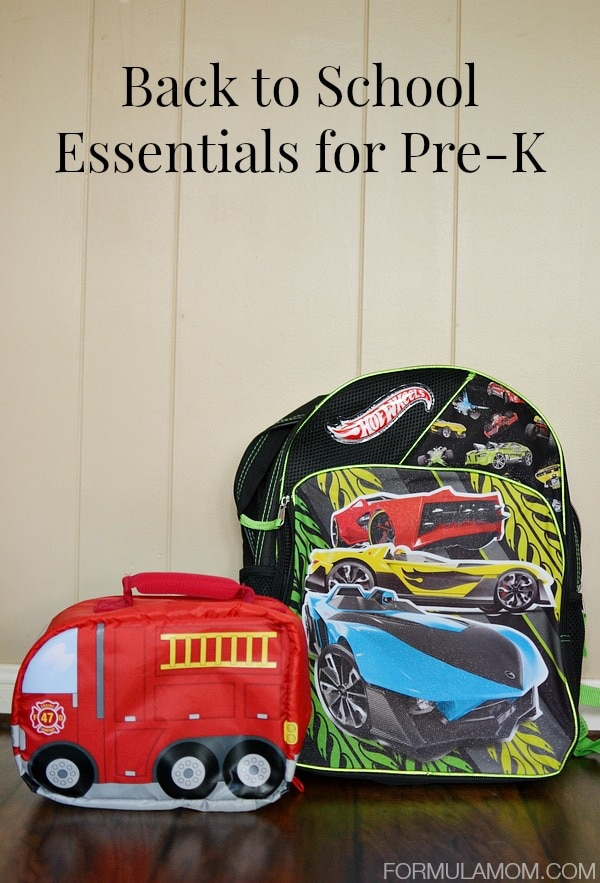 Back to School Essentials for Pre-K #BTSwithTarget #sponsored