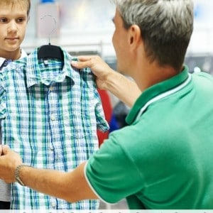 Use these simple back to school shopping tips to make your back to school clothes shopping trip easier!