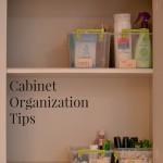 Cabinet Organization Tips