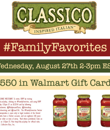 RSVP for the #FamilyFavorites #TwitterParty 8/27 #shop