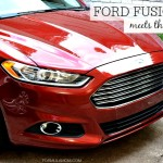 The Ford Fusion SE Meets Family Life