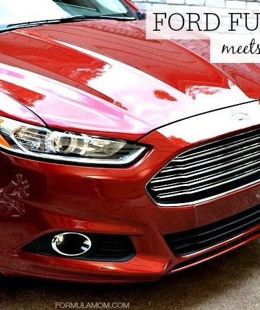 The Ford Fusion SE Meets the Family #FordTX