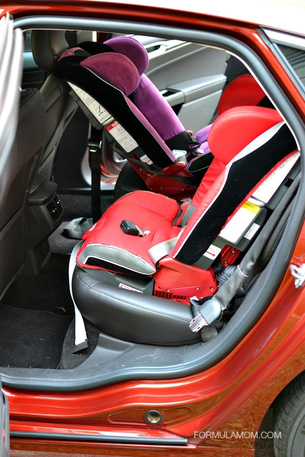 Ford Fusion SE and the car seat challenge #FordTX