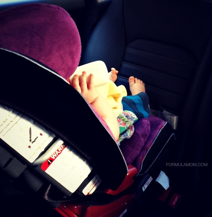 Ford Fusion SE passes my car seat test! #FordTX