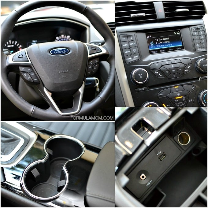 Features of the Ford Fusion SE #FordTX
