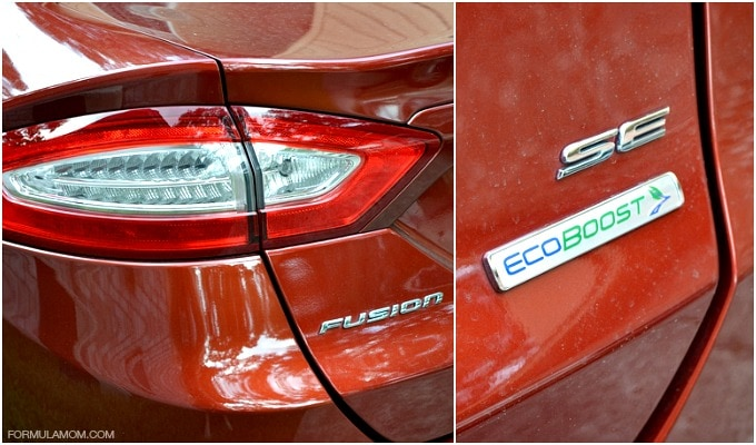 Styling of the Ford Fusion SE #FordTX