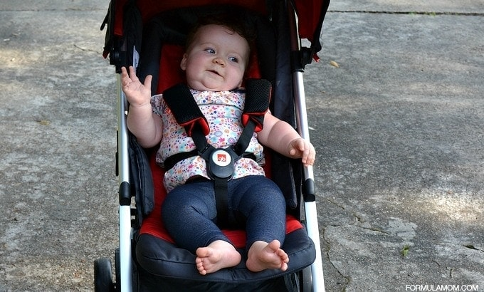 GB Zuzu Stroller: Comfortable for Children