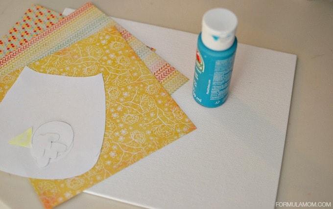 Grandparents Day Handprint Owl Craft: Supplies #grandparentsday #crafts