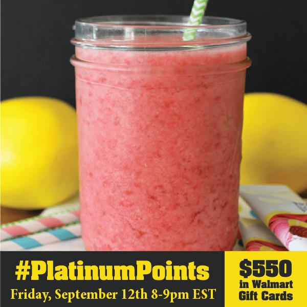 #PlatinumPoints Twitter Party 9/12 #cbias #shop #TwitterParty