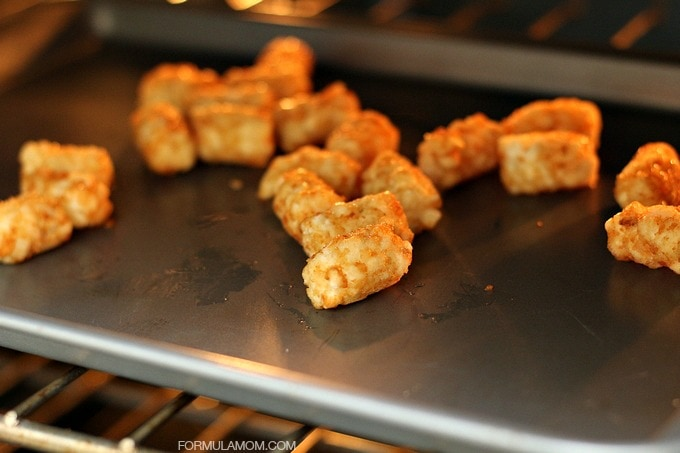Playdate Food Made Easy with Frozen Food: Tater Tots!
