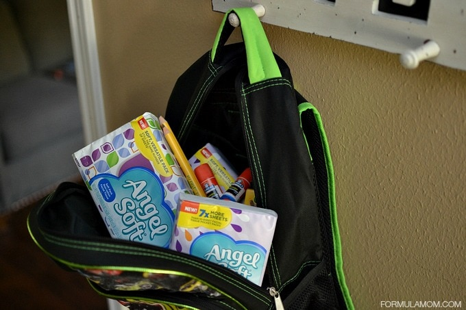 Preparing for Back to School with Angel Soft