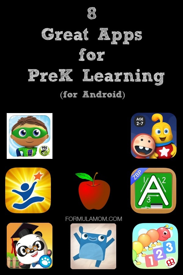 Preparing for PreK with 8 Great Apps for Android #TabletTrio #shop #cbias