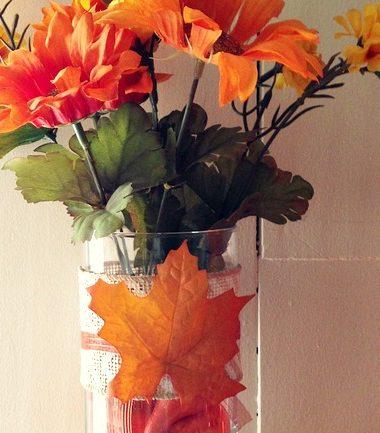 Dollar Tree Fall Decor: Fall Centerpiece #diy #decor