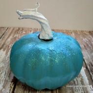 Disney's Frozen Inspired DIY Pumpkin