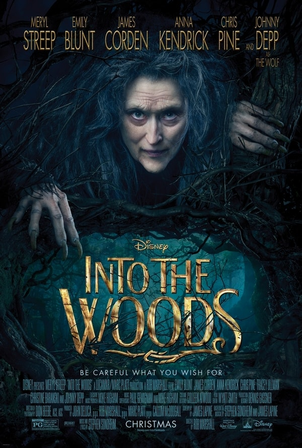Into the Woods in theaters 12/15!
