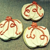 Pumpkin Cookie Decorating Tutorial