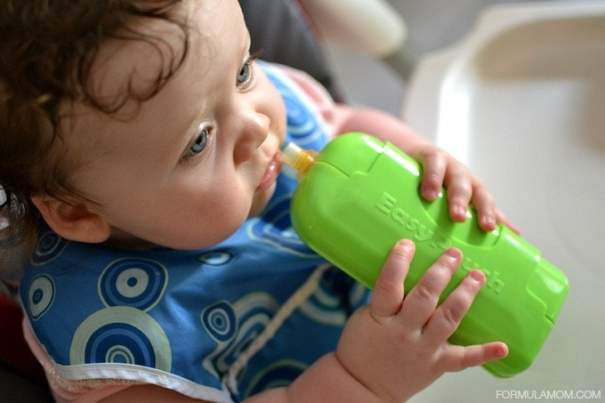 Self Feeding Tips for Babies #LessMess