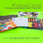 Join the #ValueCards Twitter Party on 9/22