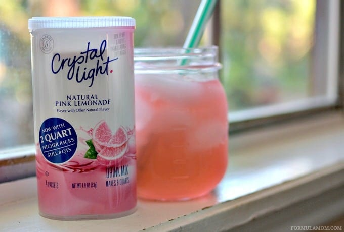 Crystal Light Platinum Points Mocktail