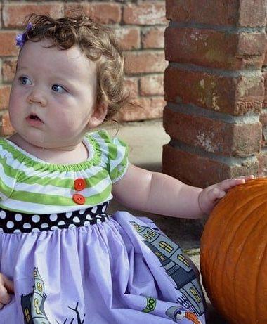 C's Closet: Eleanor Rose Halloween Dress #kidsfashion