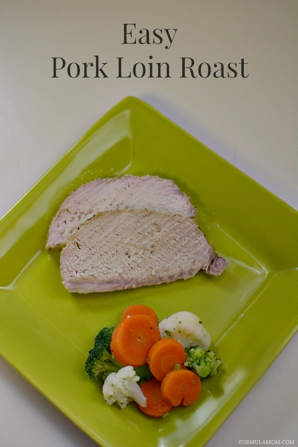 Easy Pork Loin Roast Recipe #porktober #sponsored