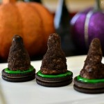 Edible Halloween Witches Hats Cookies