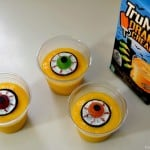 Eyeball Halloween Pudding Treats