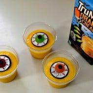 Eyeball Halloween Pudding Treats
