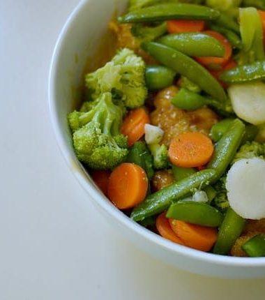 Birds Eye Vegetables in Easiest Chicken Stir Fry #ILikeVeggies
