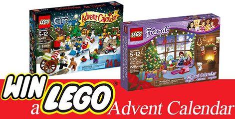 LEGO Advent Calendar Giveaway